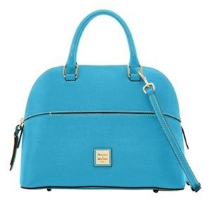 Dooney and bourke leather light blue Cartier